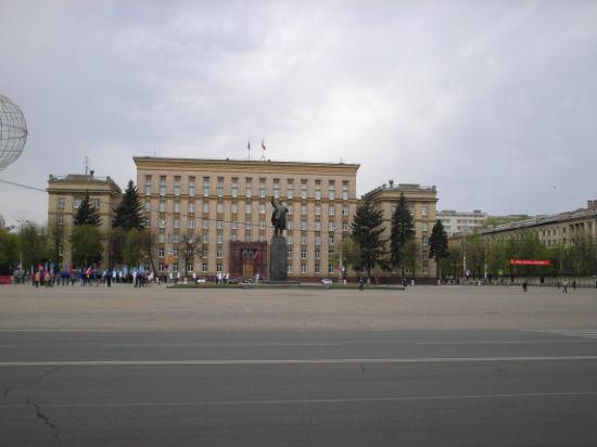 Город Воронеж площадь им. В.И. Ленина фото