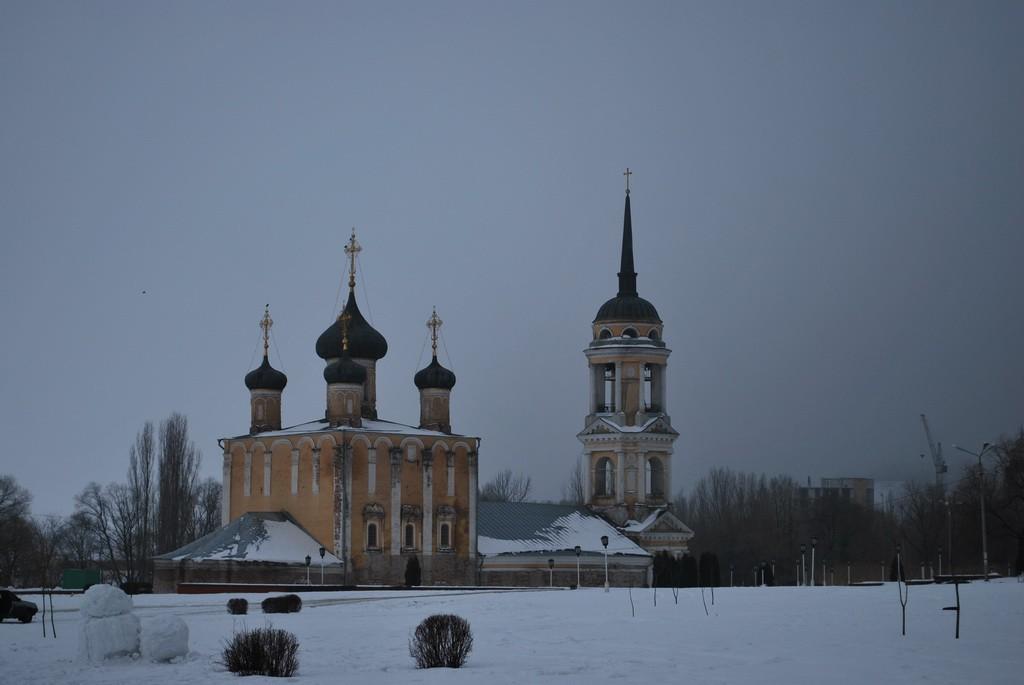 Адмиралтейский храм в Воронеже фото