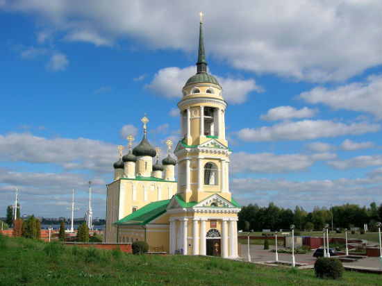 Адмиралтейский храм город Воронеж фото