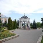 Часовня на территории Акатова монастыря в Воронеже фото