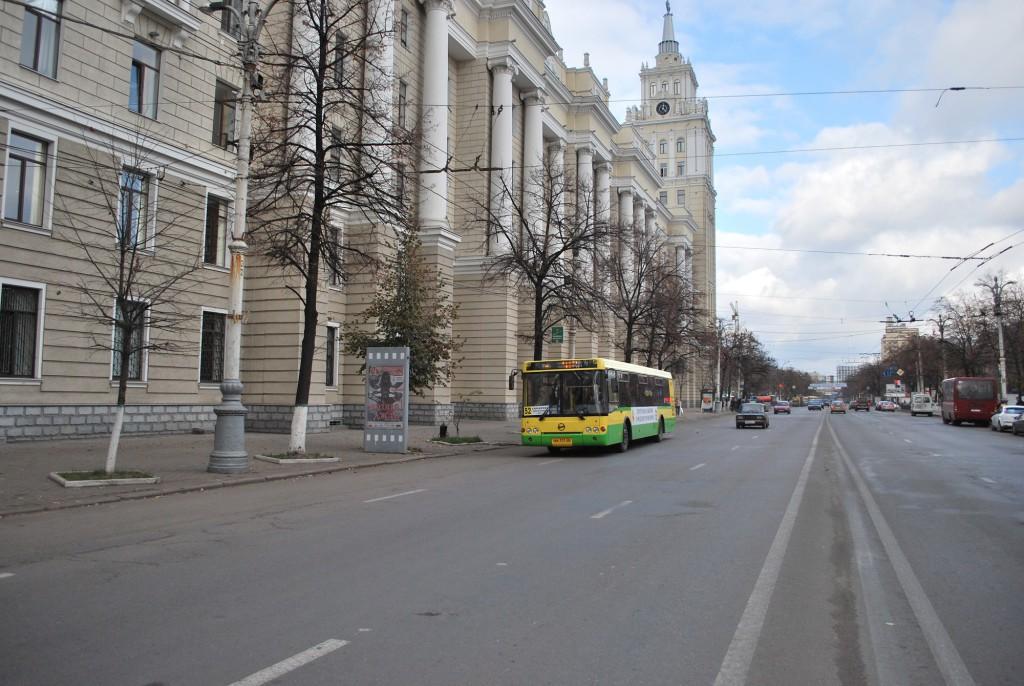 Автобус в Воронеже фото