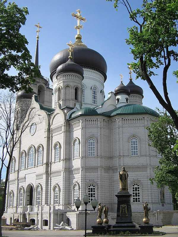 Благовещенский собор в Воронеже фото