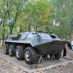 БТР в музее в Воронеже фото