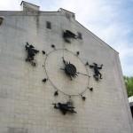 Часы на кукольном театре в Воронеже фото
