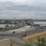 Чернавский мост в процессе ремонта Воронеж фото