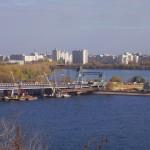 Чернавский мост на ремонте Воронеж фото