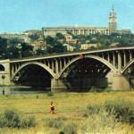 Чернавский мост в 1970 году Воронеж фото