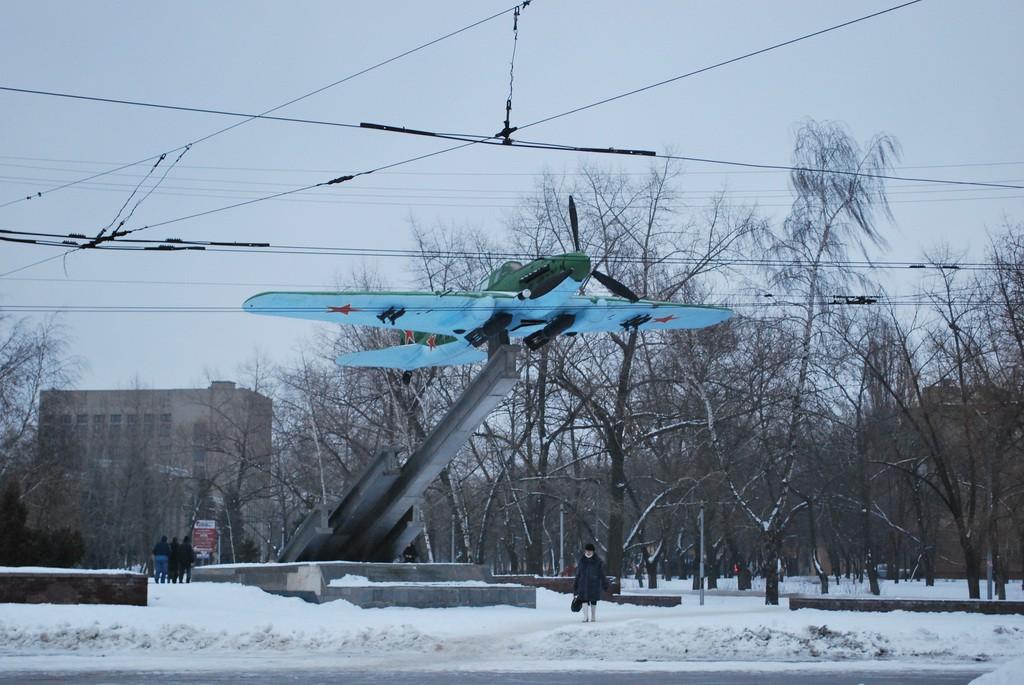 Циолковского самолет в Воронеже фото