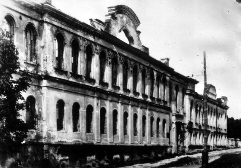 Дом Вигеля после освобождения Воронежа фото