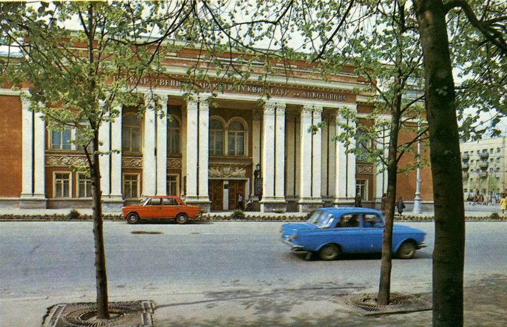 Драмтеатр Кольцова в Воронеже фото