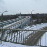 Эстакада Северного моста-путепровод на парком Динамо Воронеж фото