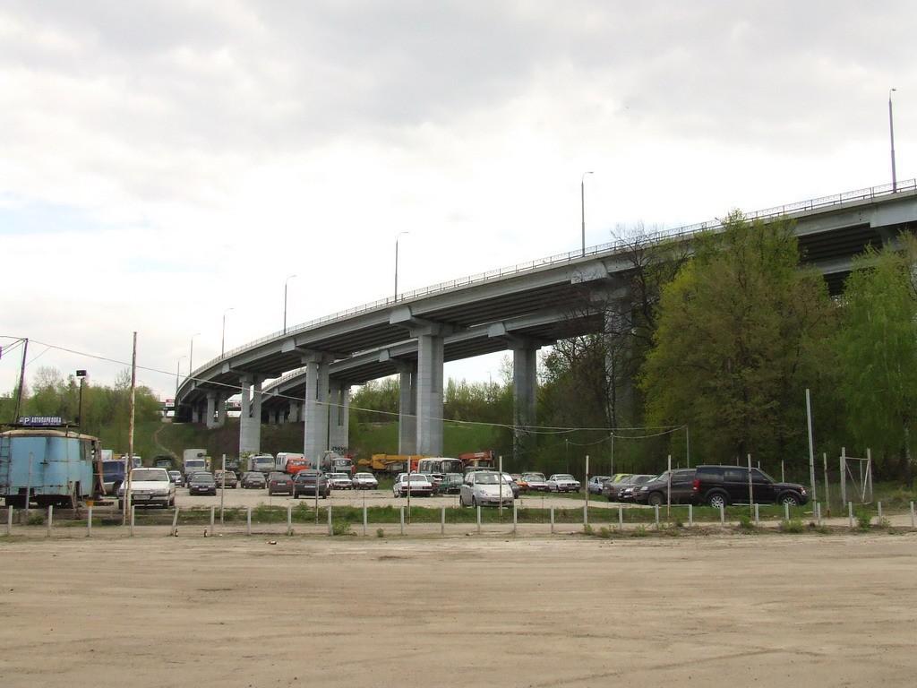 Эстакада над Динамо - она же-дорога в никуда в Воронеже фото