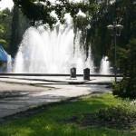 Фонтан в Кольцовском сквере в Воронеже фото