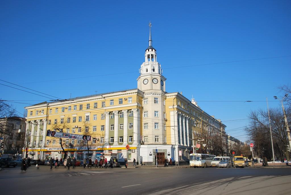 Здание бывшей гостиницы Воронеж фото