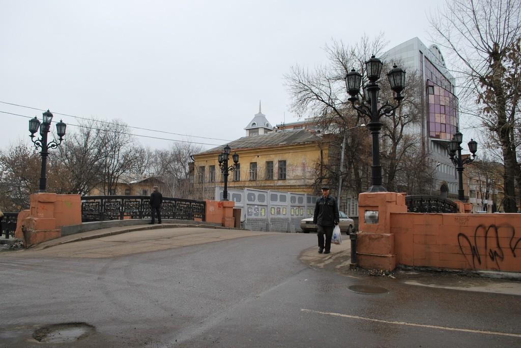 Знаменитый каменный мост Воронеж фото