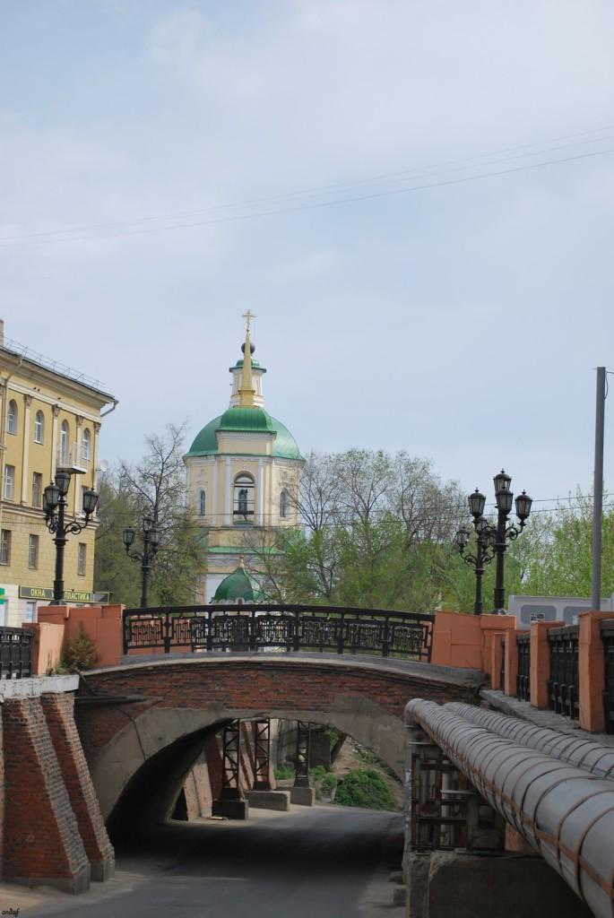Каменный мостик 1 мая 2009 года Воронеж фото