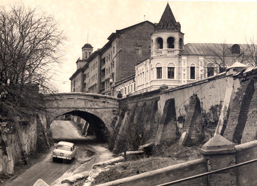 Каменный мост в Воронеже в 1960-х г.г. фото