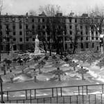 Кладбище в Кольцовском сквере в Воронеже фото