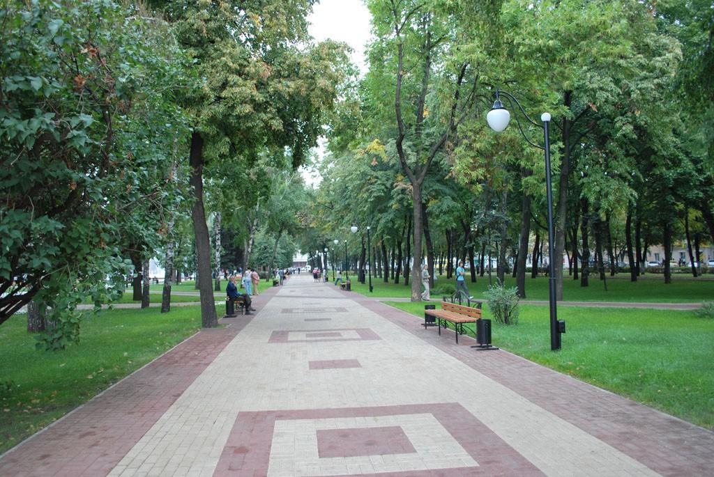 Кольцовский сквер после реконструкции в Воронеже фото