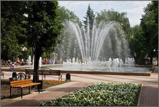 Кольцовский сквер в Воронеже фото