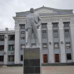 Памятник Ленину у мехзавода в Воронеже фото