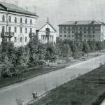 Ленинградская улица в Воронеже старое фото 1960 год.