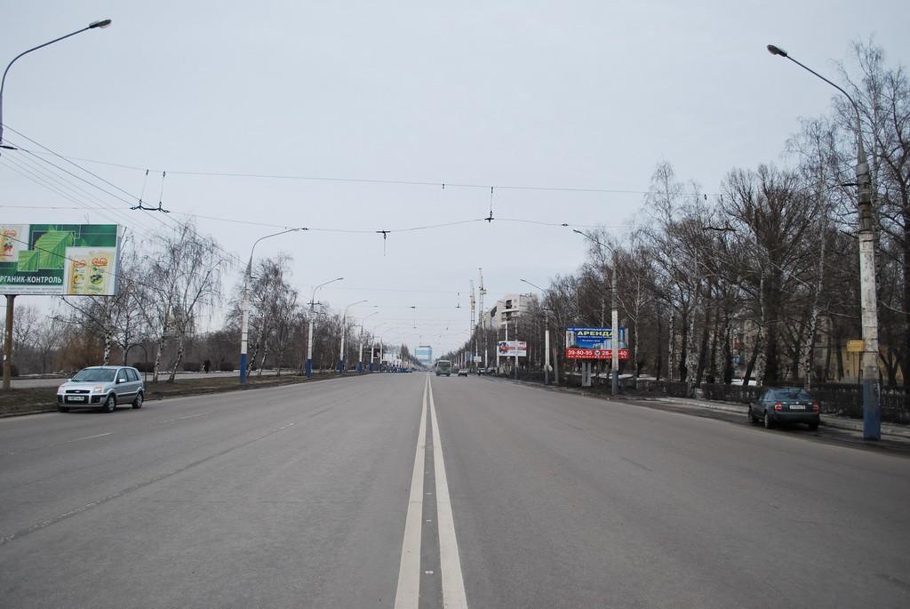 Ленинский проспект в Воронеже фото