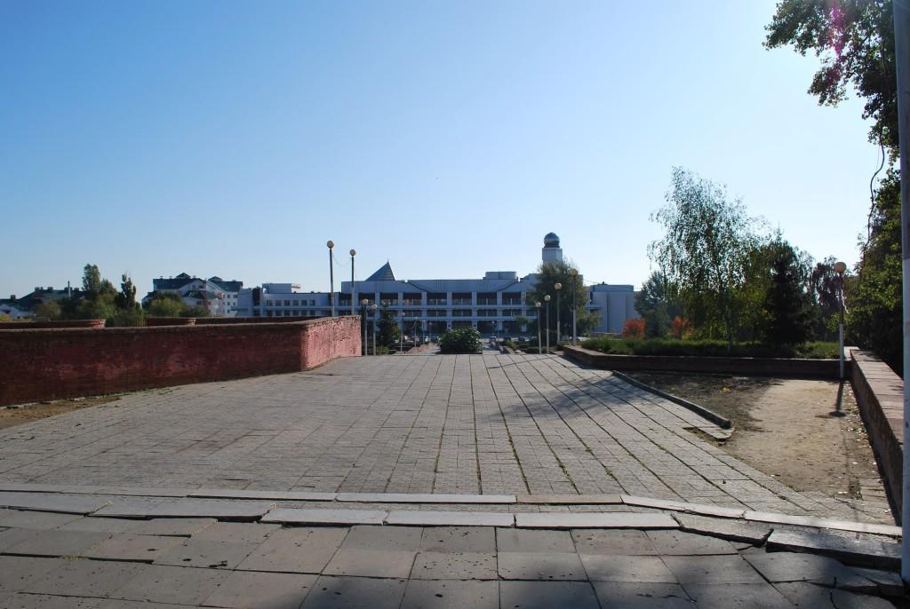 Лестница на пл. Детей в Воронеже фото