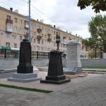 Литературный некрополь общий вид в Воронеже фото