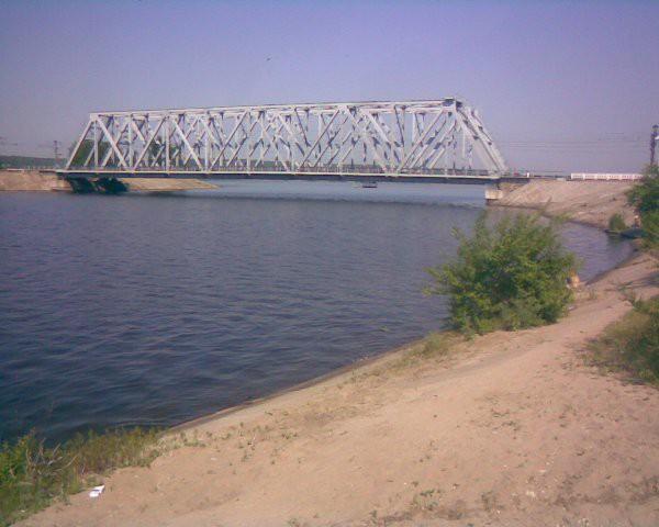 Мост в Отрожке Воронеж фото