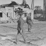 Немецкий патруль в Воронеже фото