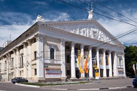 Театр Оперы и балета Воронежа фото