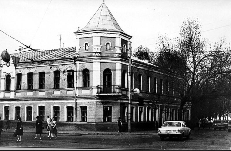 Отель на Среднемосковской в Воронеже старое фото