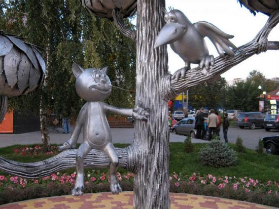Памятник котенку с улицы Лизюкова фото
