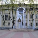 Памятник Пушкину в Воронеже фото