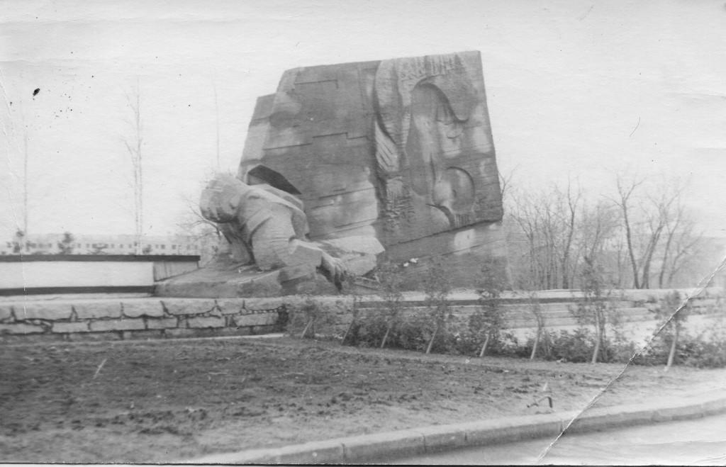 Памятник Славы в Воронеже старое фото