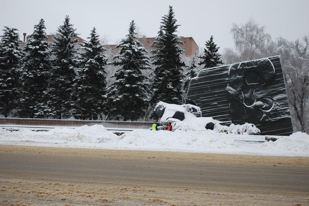 Памятник Славы в Воронеже фото