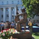 Памятник Высоцкому в Воронеже фото