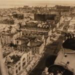 Панорама с самолета Воронежа в годы ВОВ фото