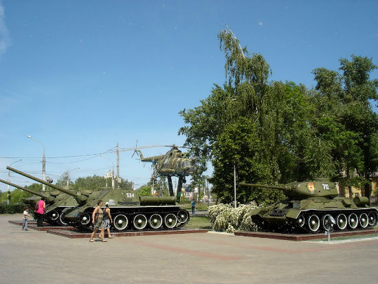 Парк патриотов город Воронеж фото