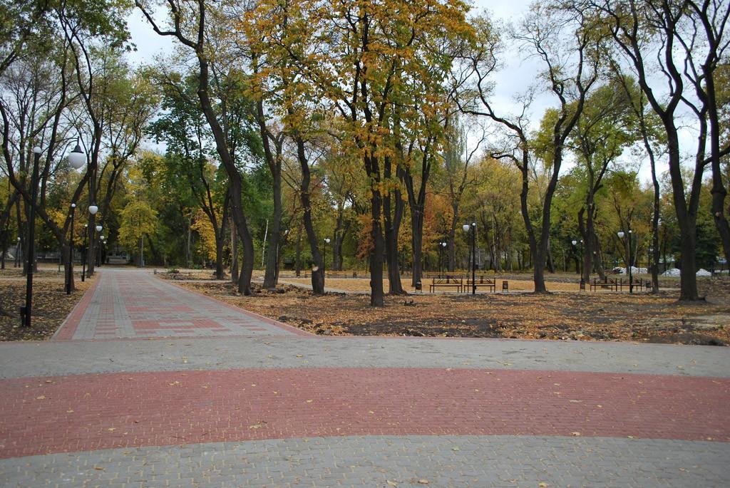 Парк Живых и Мертвых в Воронеже фото