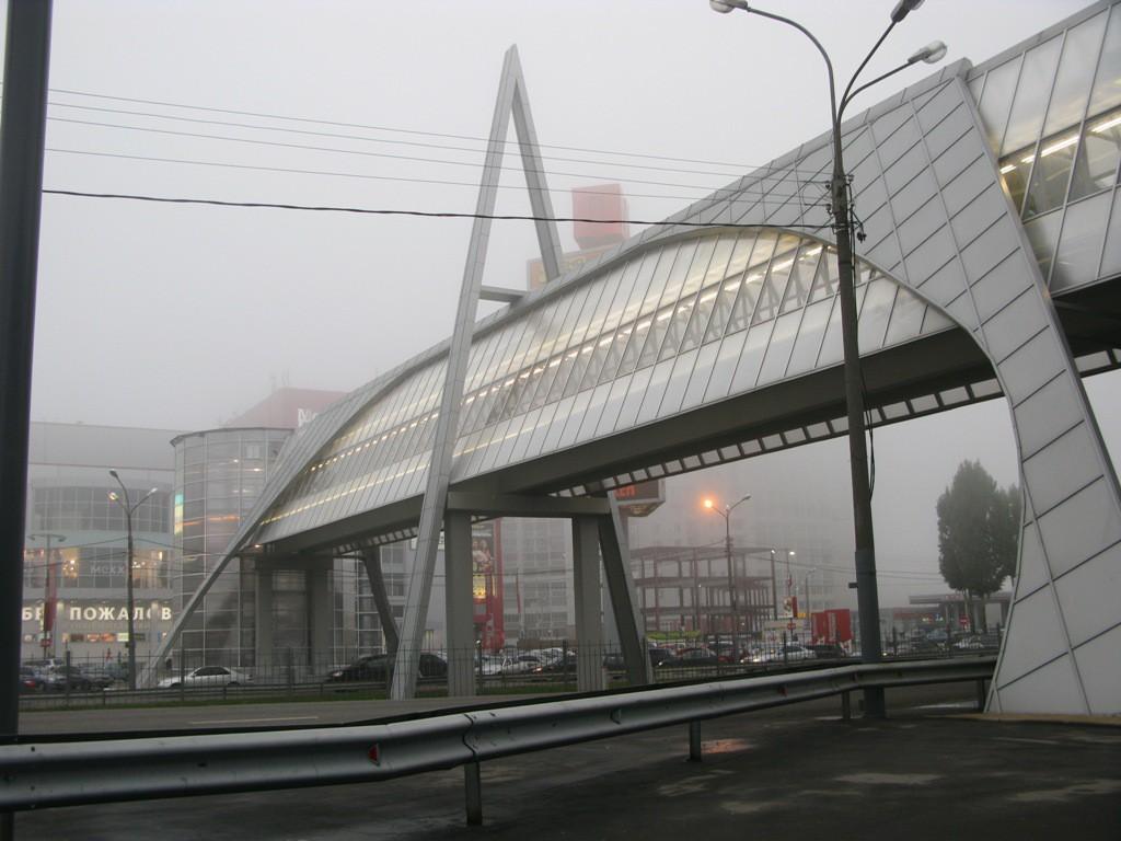Переходной мост у МП в Воронеже фото
