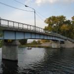 Пешеходный мост в Воронеже фото