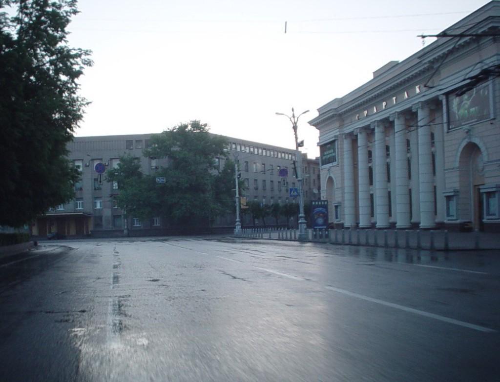 Площадь Ленина вид на кинотеатр в Воронеже фото