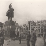 Площадь Ленина 1942 год в Воронеже фото