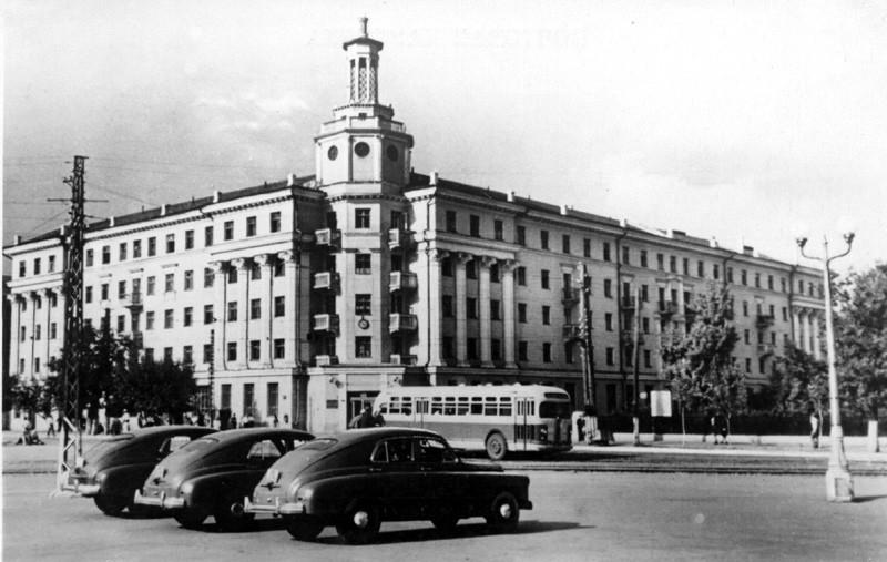 пл.Ленина в Воронеже старое фото