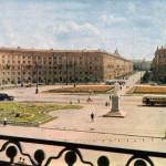 Площадь Черняховского 1970 год в Воронеже фото