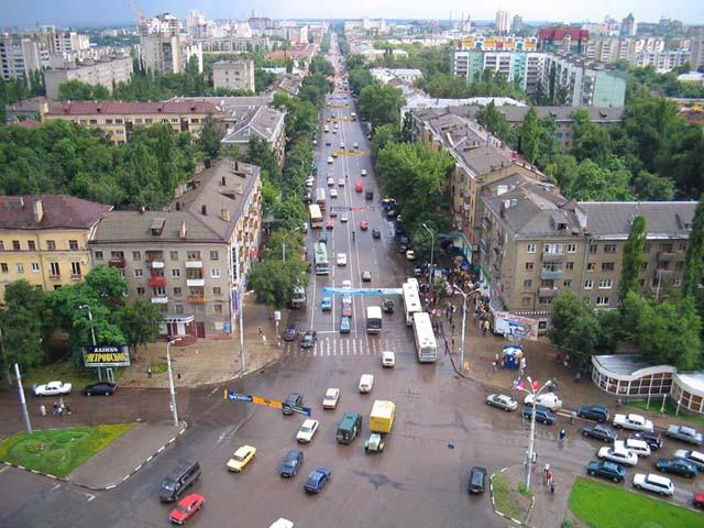 Площадь Застава в Воронеже фото