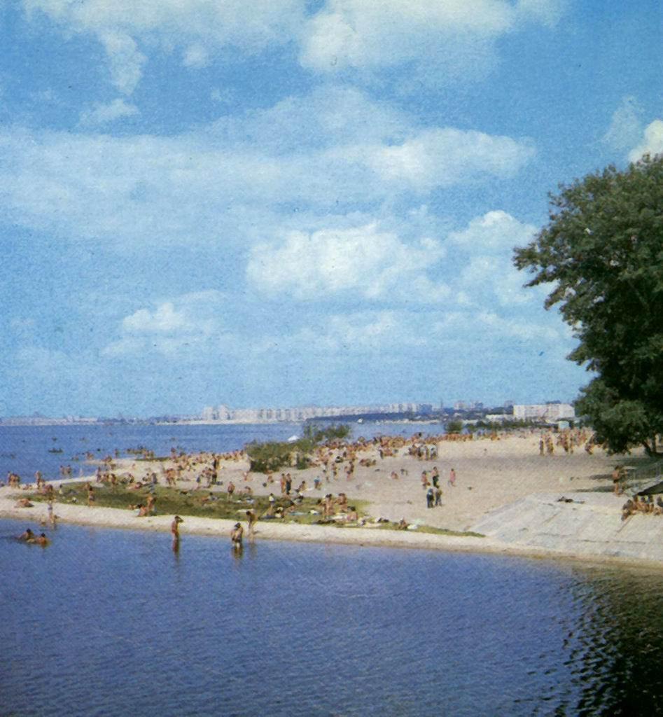 Пляж в Воронеже 1970 год фото