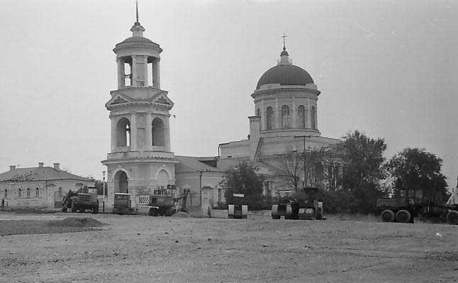 Покровский храм в Воронеже фото 1970-х г.г.